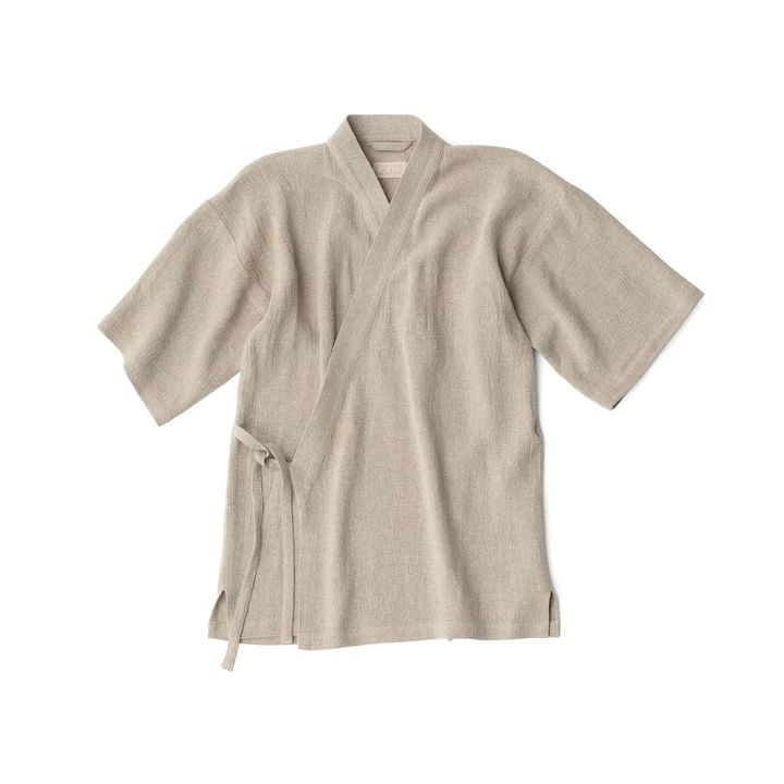 RAW Unisex Kimono Natural S-M (sample) – Thisispaper Shop