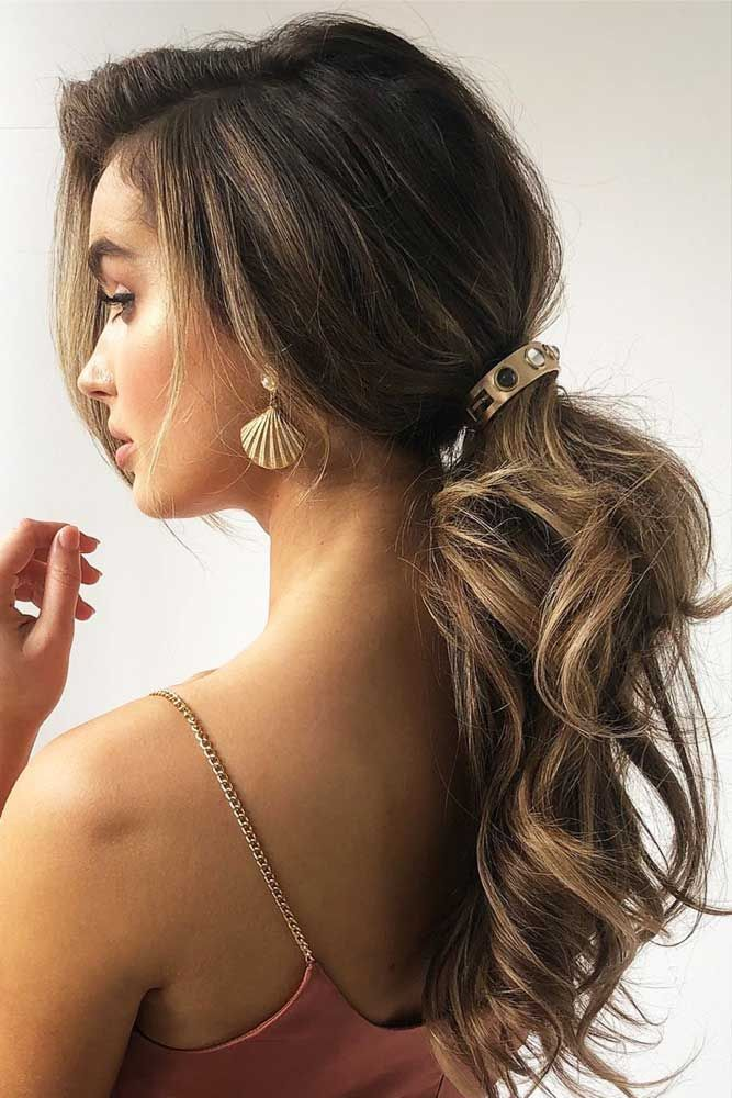 """Low Wavy Pony With Long Side Bang <a class=""""pintag"""" href=""""/explore/ponytail/"""" title=""""#ponytail explore Pinterest"""">#ponytail</a> <a class=""""pintag"""" href=""""/explore/wavyhair/"""" title=""""#wavyhair explore Pinterest"""">#wavyhair</a> ★ Do you know what hairstyles and haircuts can hide big forehead? Dive in our gallery to learn how to deal with such a prominent feature. Beauty tips and hacks, updo ideas with bangs, and lots of beautifying styles for women are here! ★ See more: <a href=""""https://glaminati.com/big-forehead-hairstyles/"""" rel=""""nofollow"""" target=""""_blank"""">glaminati.com/…</a> <a class=""""pintag"""" href=""""/explore/haircuts/"""" title=""""#haircuts explore Pinterest"""">#haircuts</a> <a class=""""pintag"""" href=""""/explore/hairstyles/"""" title=""""#hairstyles explore Pinterest"""">#hairstyles</a> <a class=""""pintag"""" href=""""/explore/glaminati/"""" title=""""#glaminati explore Pinterest"""">#glaminati</a> <a class=""""pintag"""" href=""""/explore/lifestyle/"""" title=""""#lifestyle explore Pinterest"""">#lifestyle</a><p><a href=""""http://www.homeinteriordesign.org/2018/02/short-guide-to-interior-decoration.html"""">Short guide to interior decoration</a></p>"""