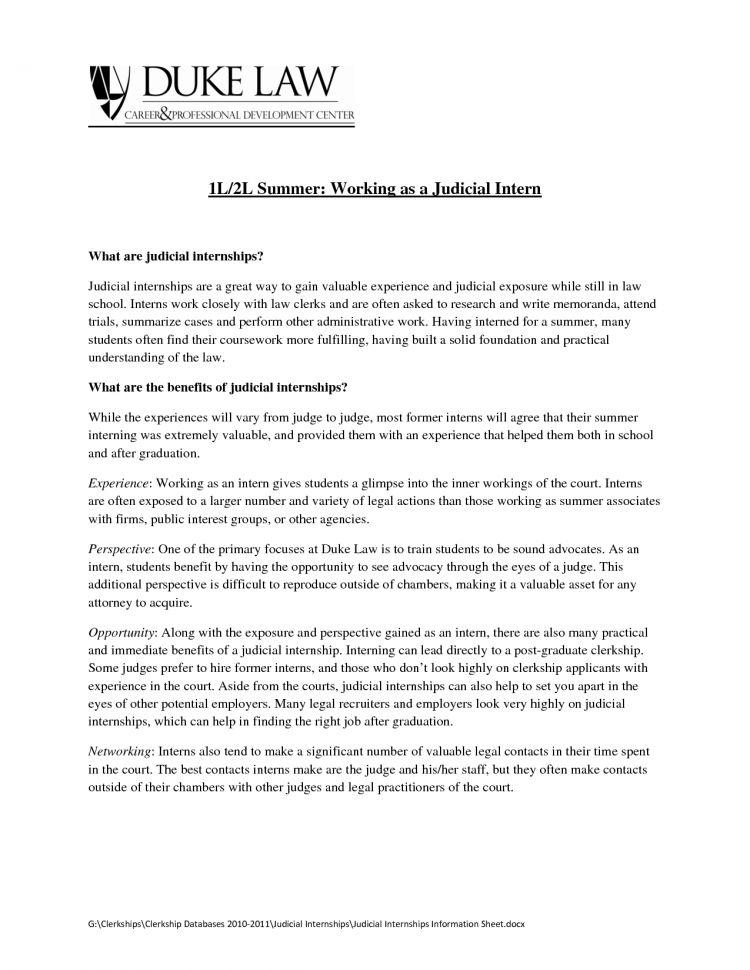 resume sample for internship students
