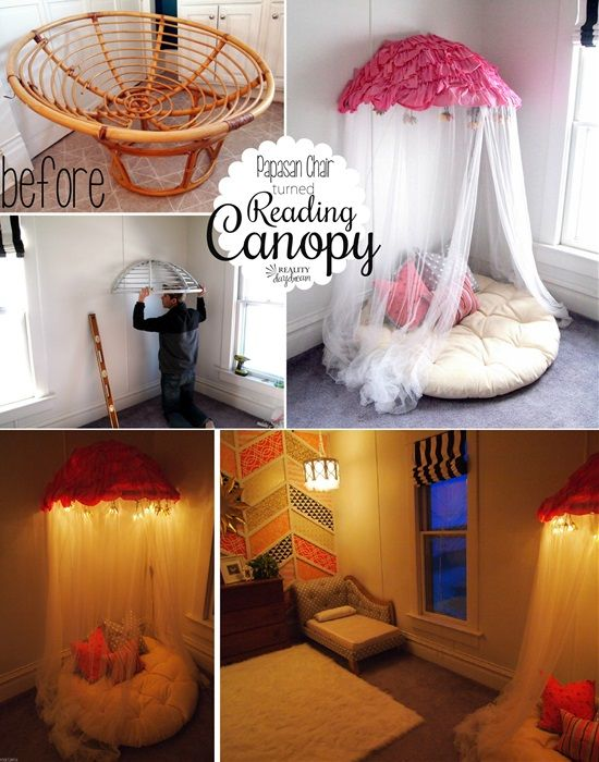 A Reading Nook for Your Little Girl