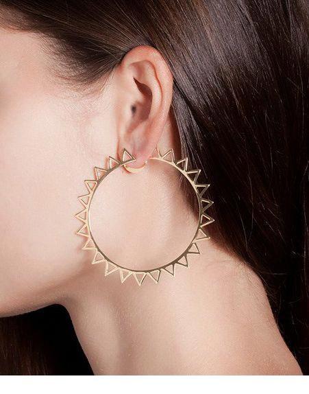 Nice sun earring