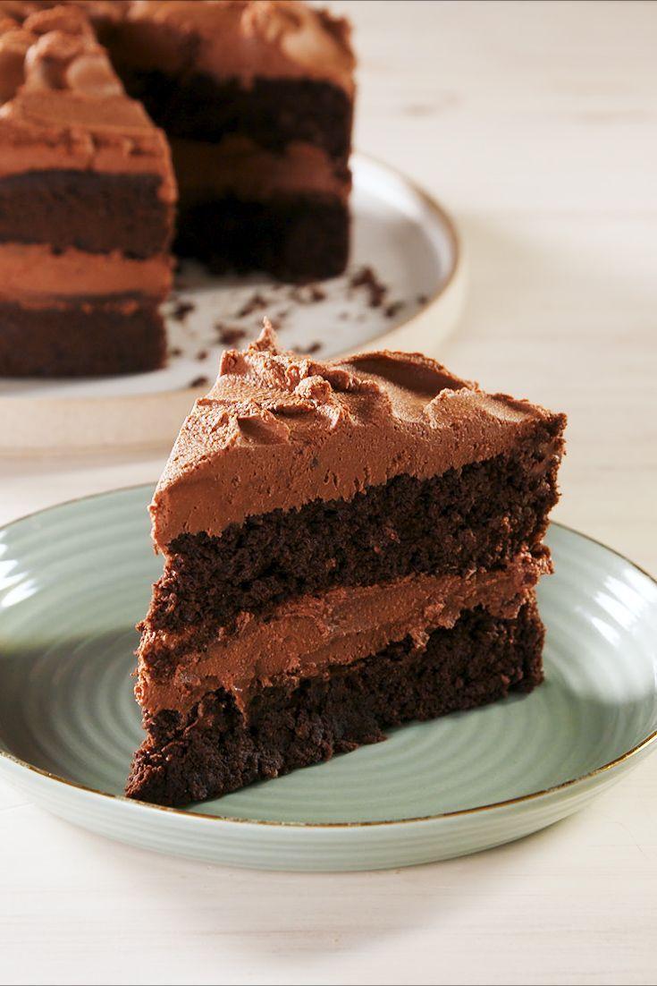 Keto Chocolate CakeDelish