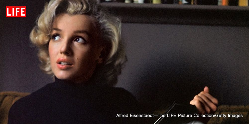 Marilyn Monroe at Home in Hollywood: Color Portraits, 1953