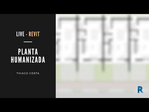 #REVIT Planta Humanizada   Aula completa! - YouTube