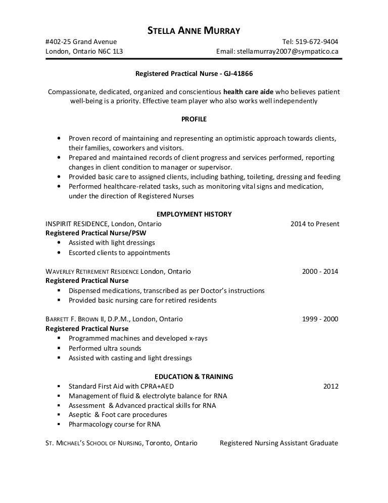 sample psw resume kasare annafora co