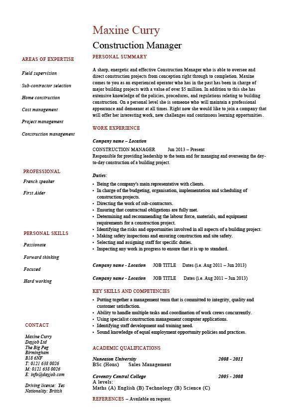 nice contractor job description images best general contractor