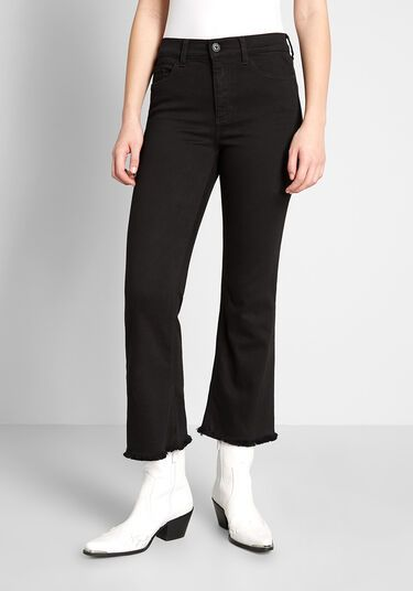 Weekly Brunch Date Cropped Jeans