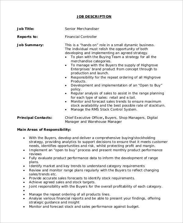 job description of a shop assistant