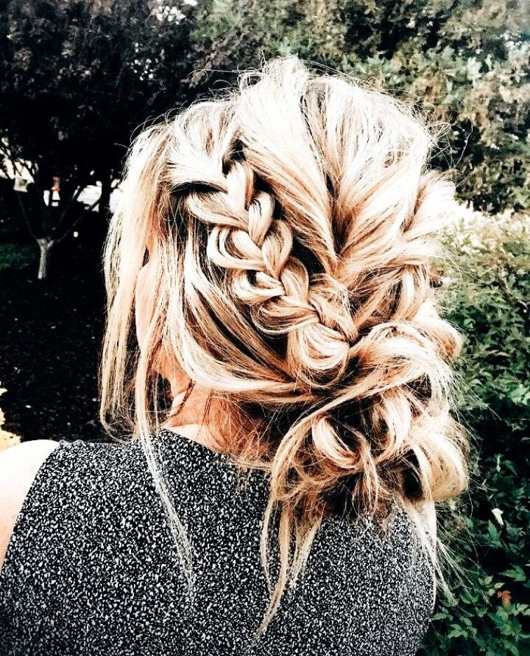 "A beautiful pop of braid in an ordinary messy bun <a class=""pintag"" href=""/explore/BigBoxBraids/"" title=""#BigBoxBraids explore Pinterest"">#BigBoxBraids</a><p><a href=""http://www.homeinteriordesign.org/2018/02/short-guide-to-interior-decoration.html"">Short guide to interior decoration</a></p>"