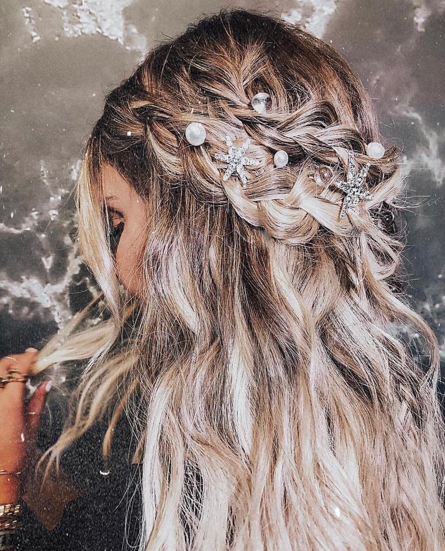 PENTEADO DE SEREIA- @cosmopolitan – #cabelo #penteado #cabelosemipreso #gostodisto
