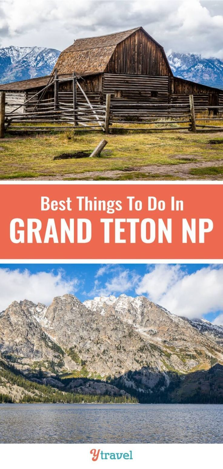 1 Day Itinerary for Grand Teton National Park, Wyoming