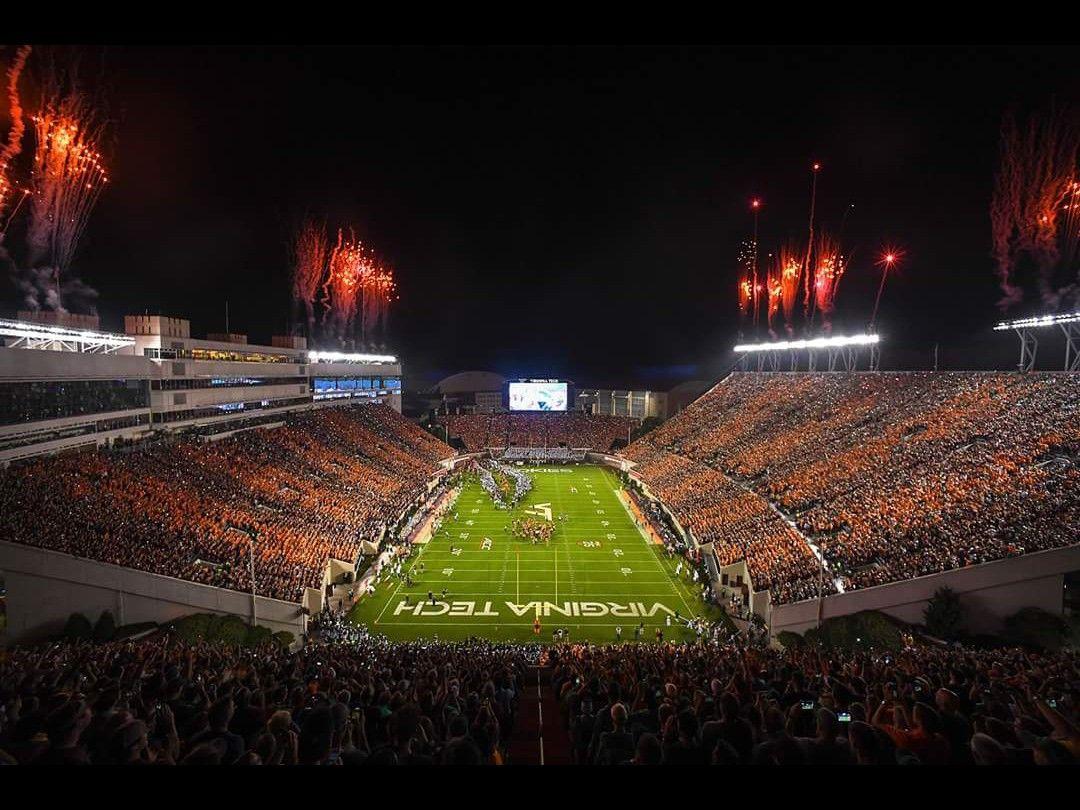 Virginia Tech Hokies Lane Stadium Hokie Effect 2018