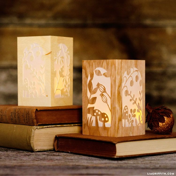 Papercut Woodland Lanterns