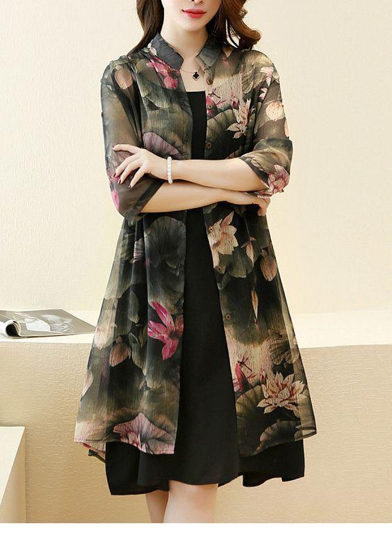 I love the black dress