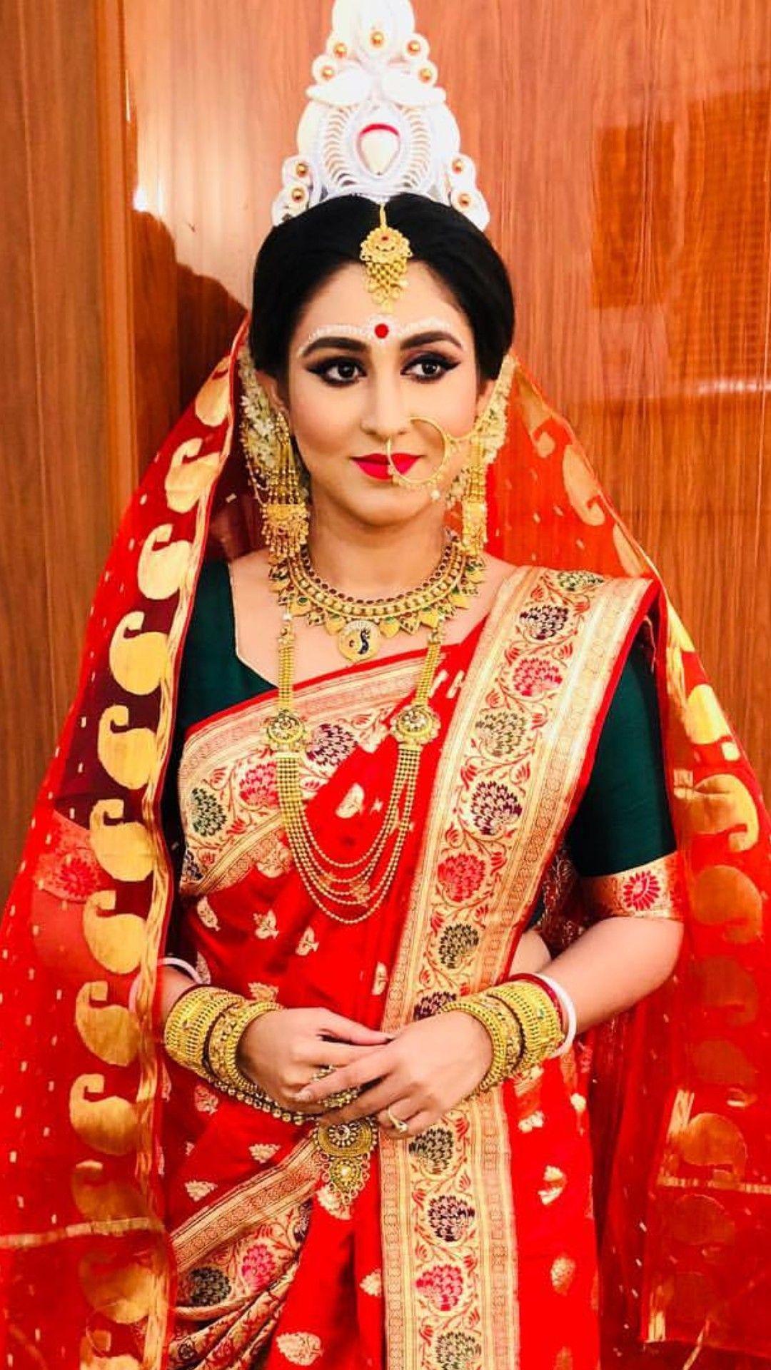 mãđhű for more pics follow | bengali brides in 2019 | radha