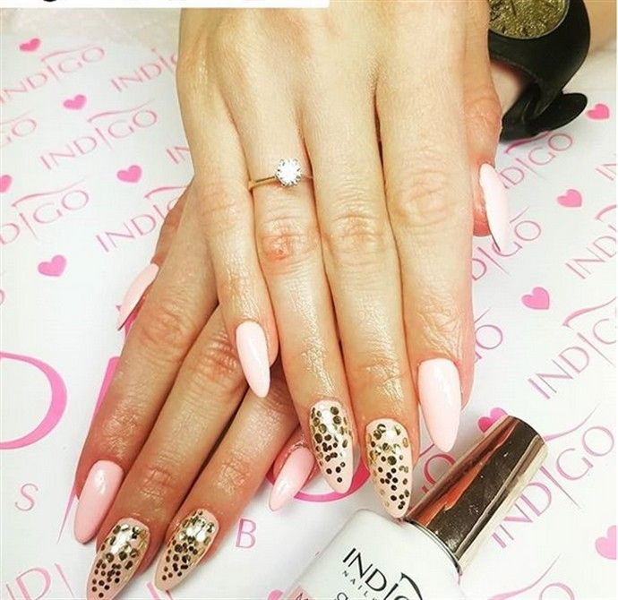33 majestic wedding nail art designs trends – Fashonails