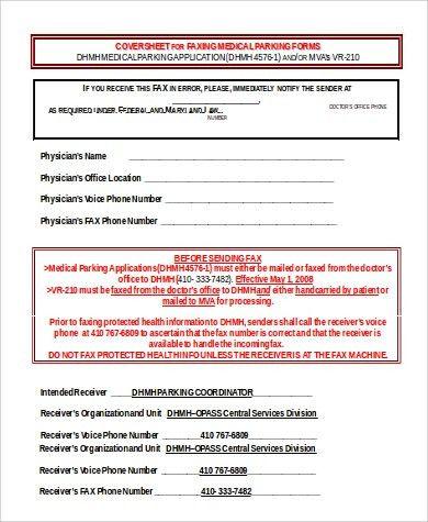 microsoft fax templates
