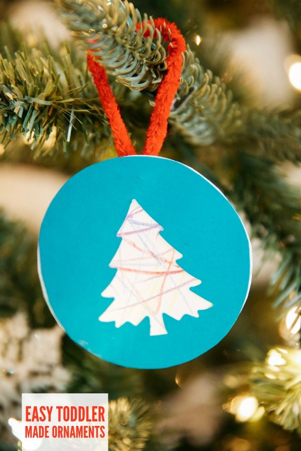 Toddler Made Ornaments – C.R.A.F.T.