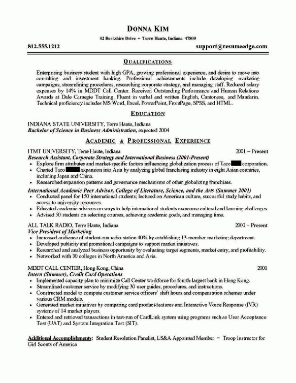 entry level business analyst resume sample insurance business