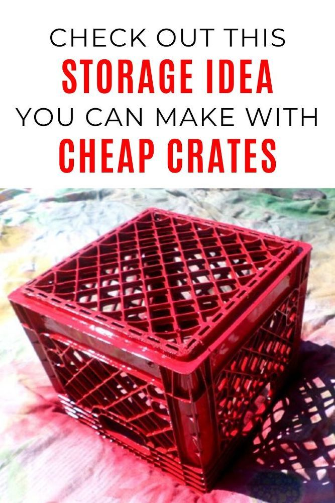 DIY Cheap and Easy Toy Storage Idea