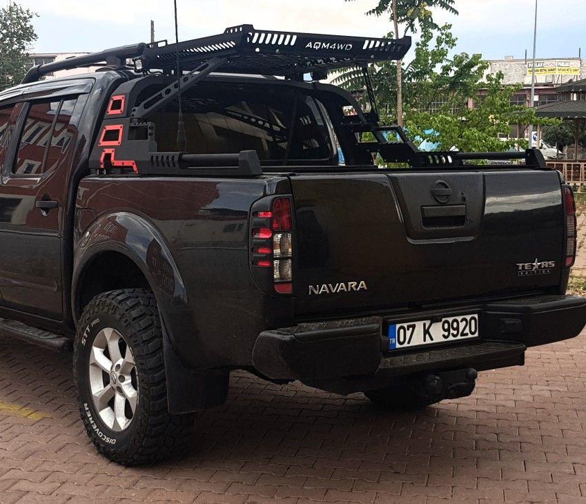 Navara d40 frontier rollbar offroad outdoor Nissan