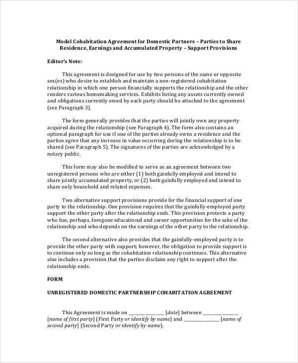 Contract Agreement Between Two Parties Template Node2001 Cvresume