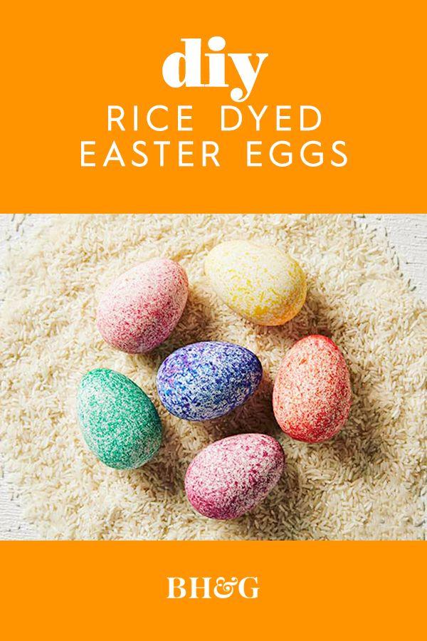 DIY Dyed Rice Eggs