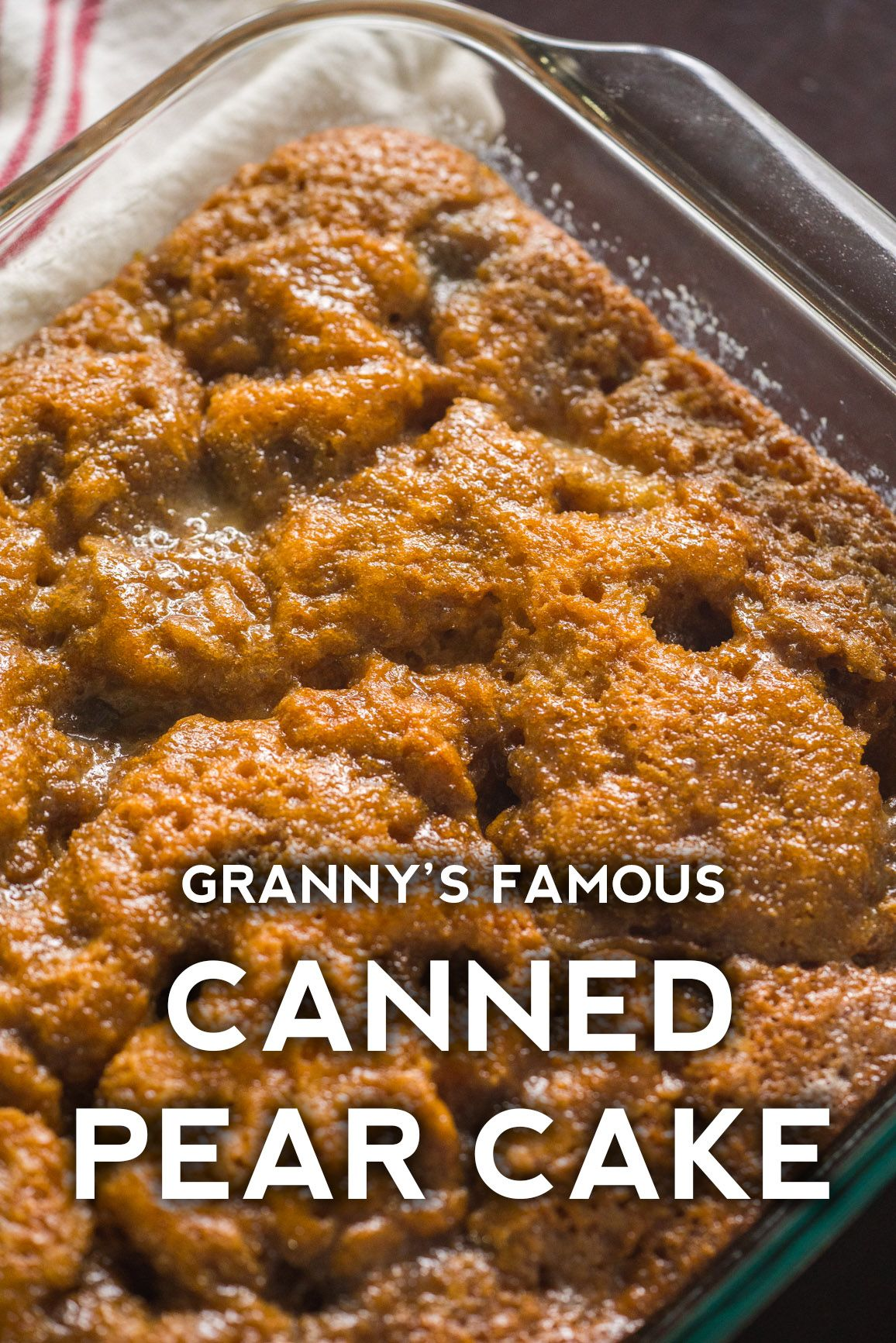 Granny's Pear Cake