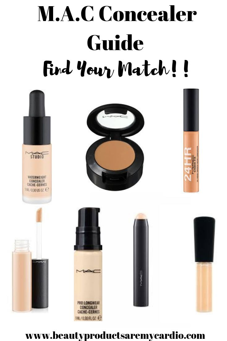 MAC Concealer Guide: Find your perfect match! – Beauty Products Are My Cardio