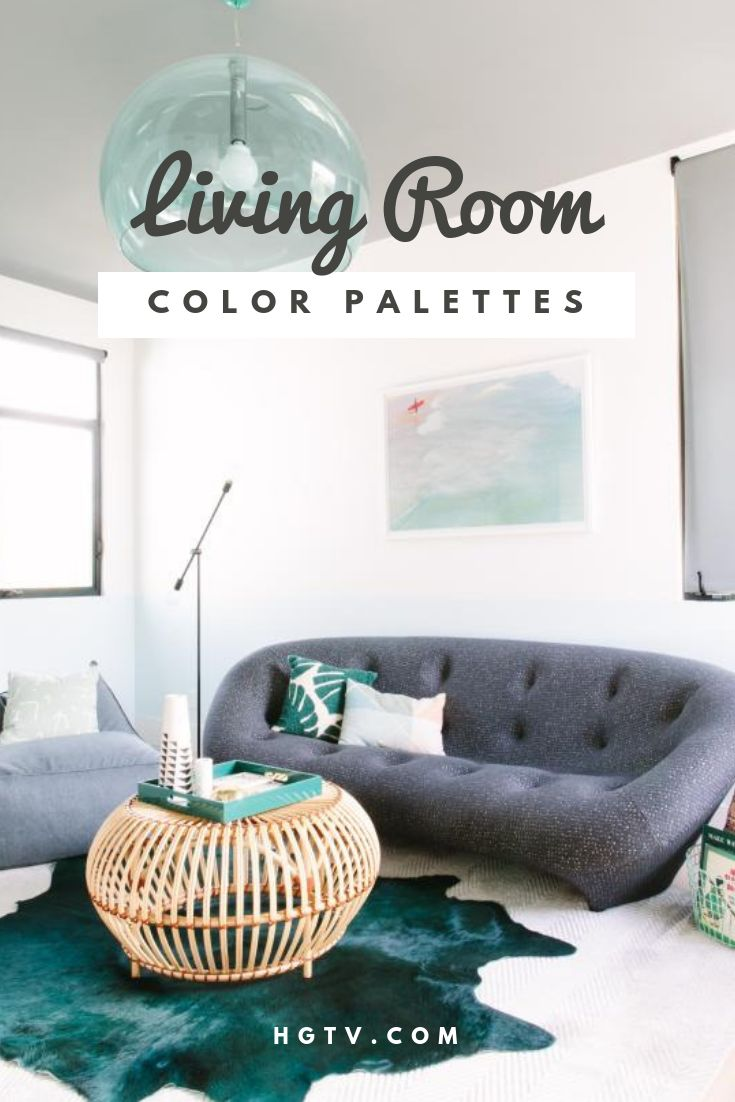 Want to create a show-stopping living room? Try one of these fresh color schemes.
