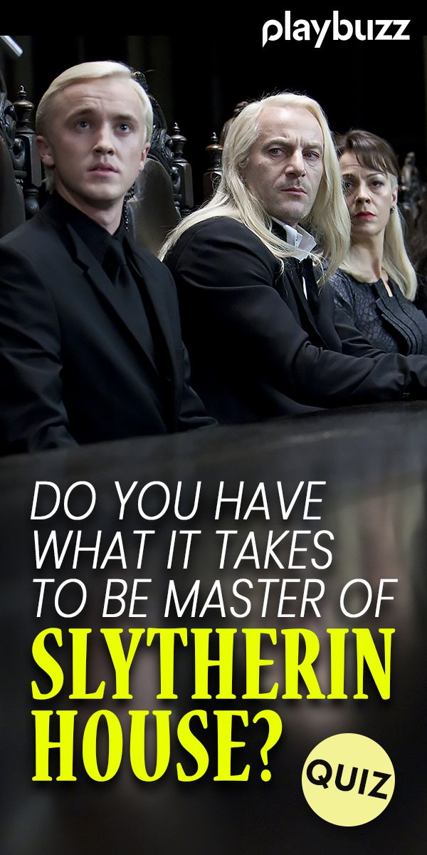 Do You Have What It Takes To Be A Slytherin?