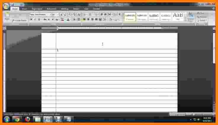 Microsoft Word Lined Paper - Fiveoutsiders - lined paper microsoft word template
