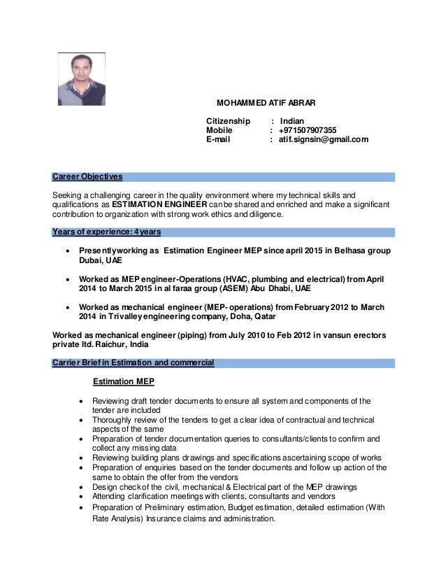 Commercial Drywall Estimator Cover Letter] Example Loan ...