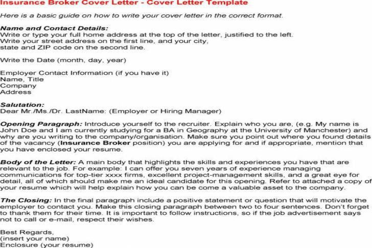 Beautiful Prime Broker Cover Letter Cvresumeunicloudpl