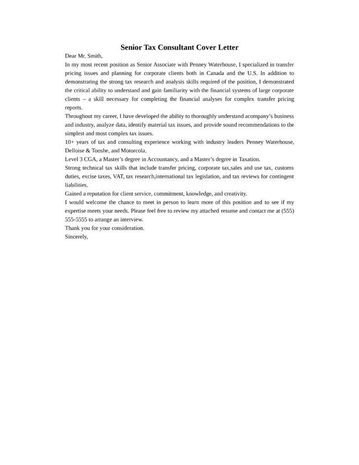 Nice ... Tax Consultant Job Description Tax Consultant Performance   Tax  Consultant Cover Letter ...