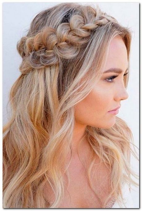Some simple hairstyles for long hair – – #frisuren