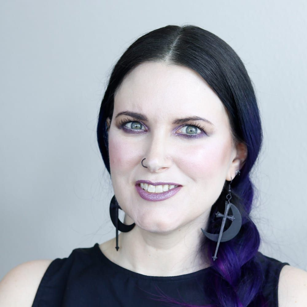 Courtney is wearing all of her cruelty-free makeup favorites