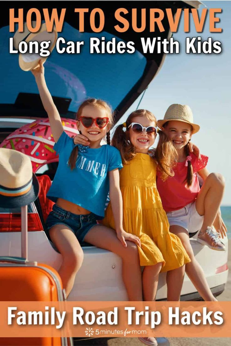 Family Road Trip Hacks - Top Tips For Surviving Long Car Rides With Kids - 5 Minutes for Mom