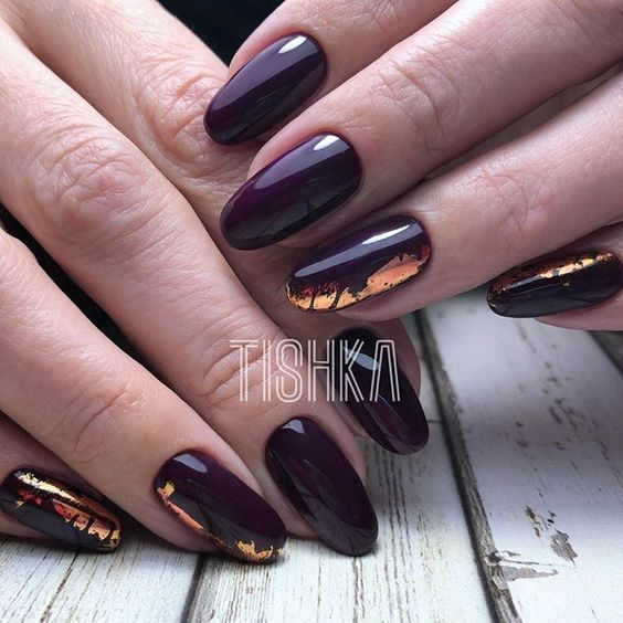 Pretty Foil Nail Designs You Should Try – isishweshwe