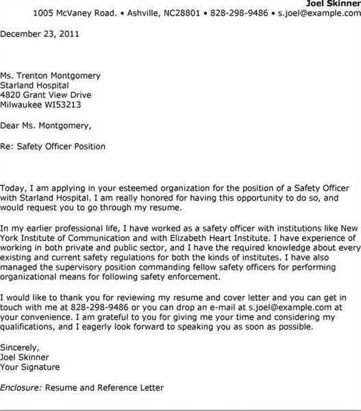... Safety Manager Cover Letter Safety Officer Cover Letter, Health   Demolition  Supervisor Cover Letter ...