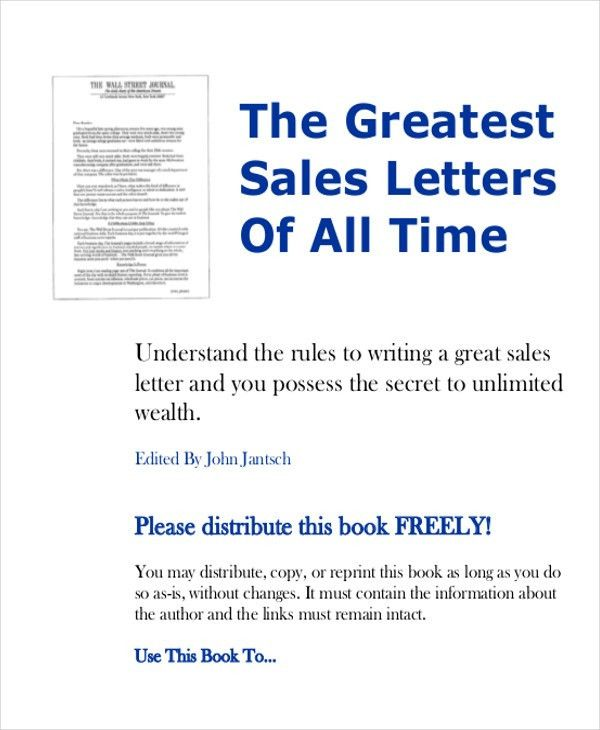 Sales Proposal Letter Example Sample Sales Proposal Letter 6 - formal proposal letter