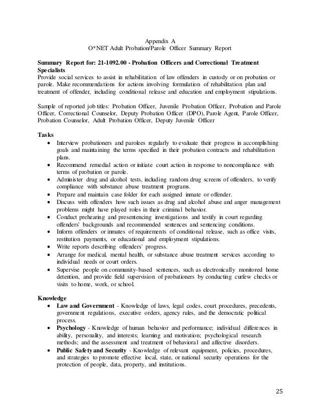 Correctional Treatment Specialist Sample Resume resume lovely law