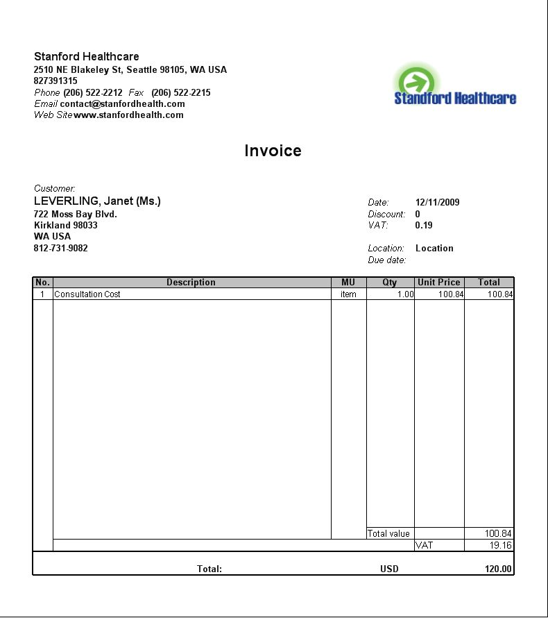 Bill Format In Word Format Invoice Format Template 30 Free Word - free invoice form template