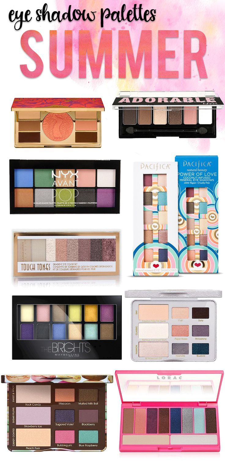 Must Have eye palettes for summer!