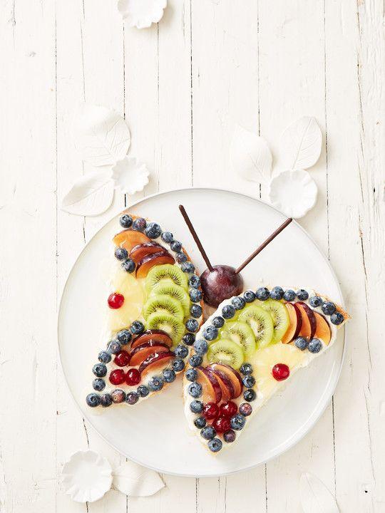 Schmetterlings - Torte