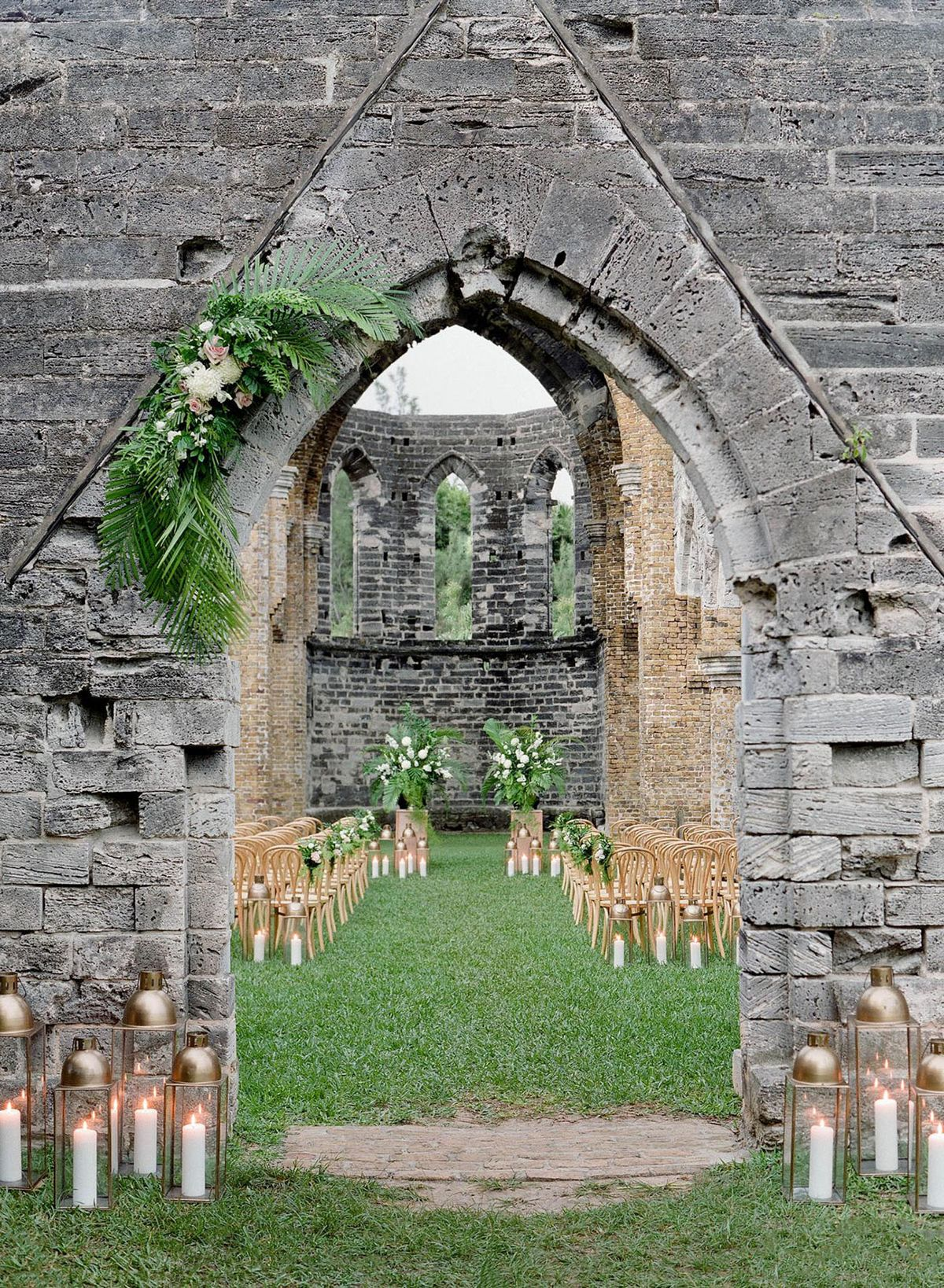 These Stunning *Abandoned* Buildings Will Make You Want to Have Your Wedding in Ruins