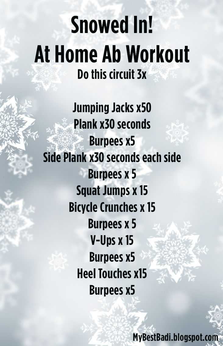 Snowed In! Full Body Workout: No Equipment Required - Let's Do Keto Together!