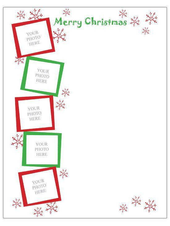 Xmas Letter Template Best 25 Christmas Letter Template Ideas