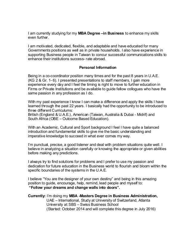 Emejing International Business Consultant Cover Letter Images ...