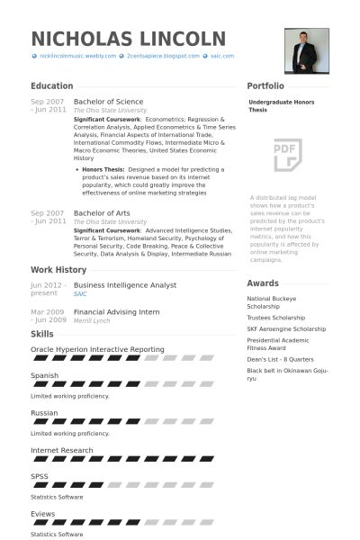 Business Intelligence Resume Sample Business Intelligence Resume